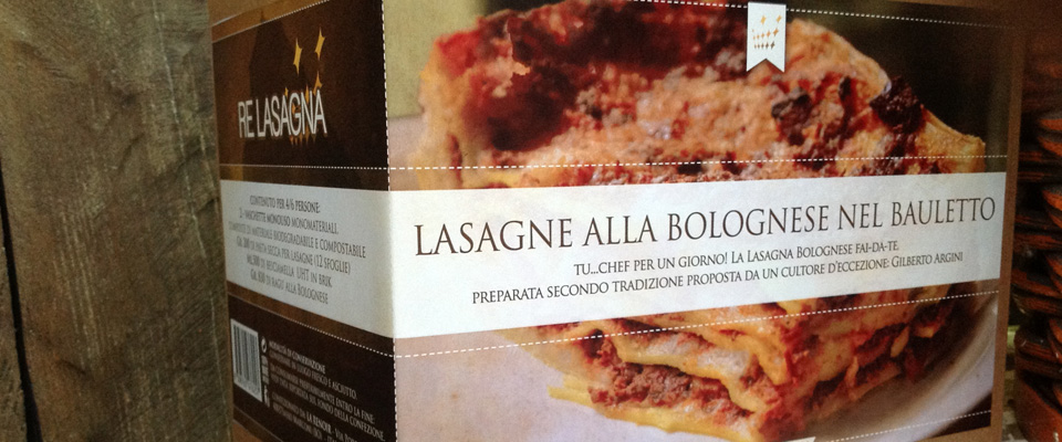 RE LASAGNA - Lasagne alla Bolognese nel Bauletto