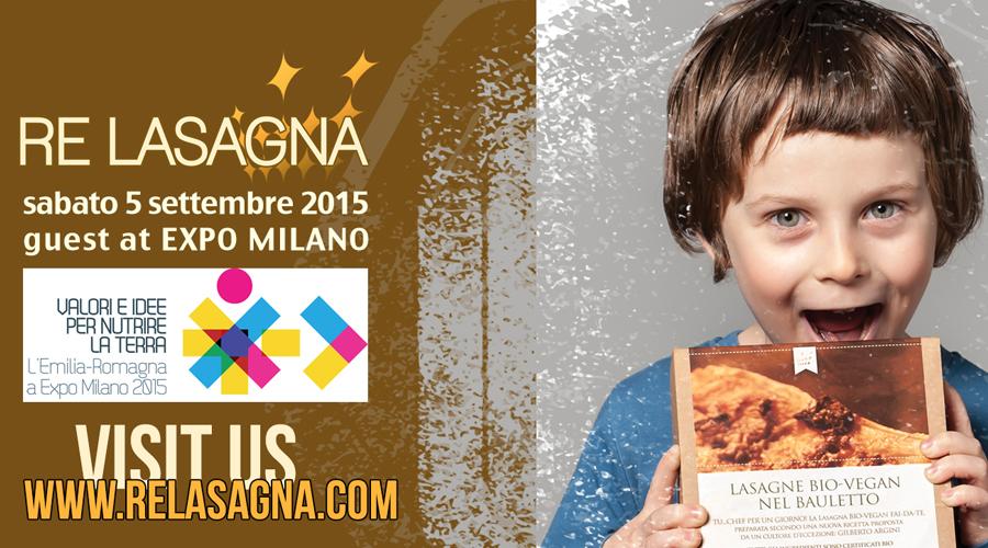 Re Lasagna guest at EXPO 2015 Milano / September 2015