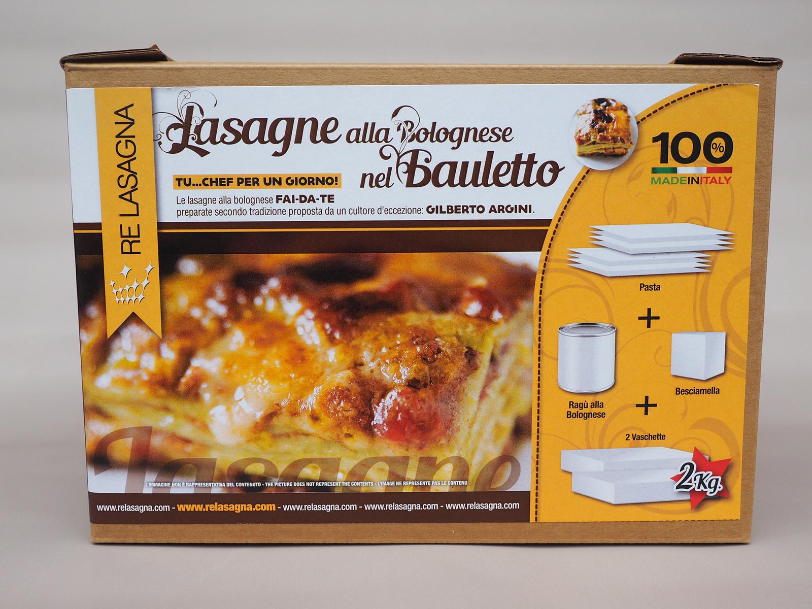Lasagne nel Bauletto by Re Lasagna