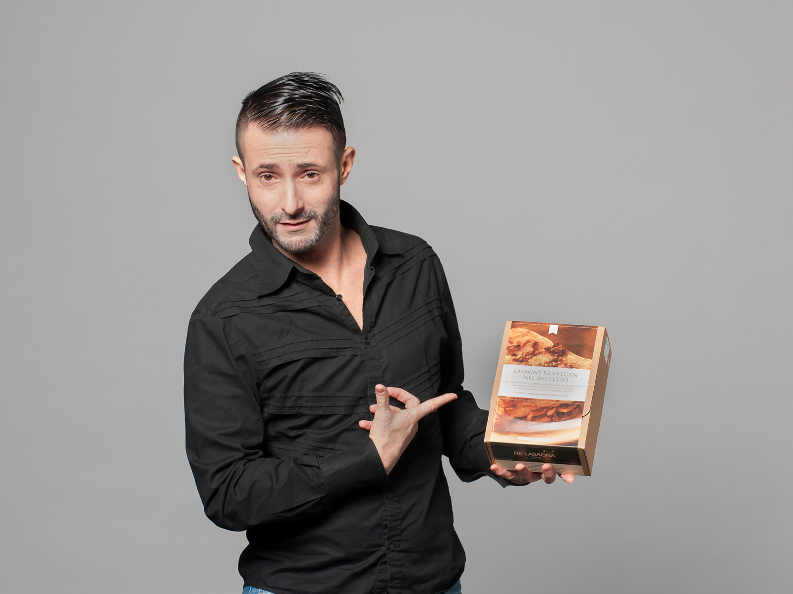 Gilberto Argini, founder & owner Re Lasagna®