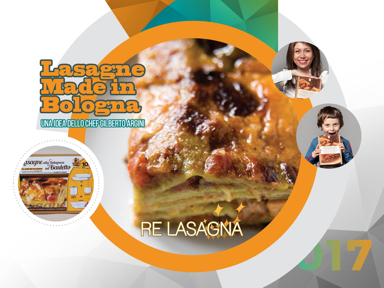 Lasagne alla Bolognese in the Box